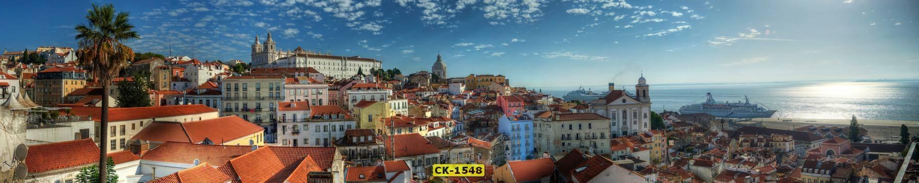 Panorama Lisbon Alfama